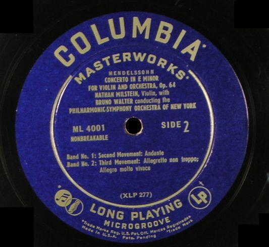 ML4001 Glossy Blue Label